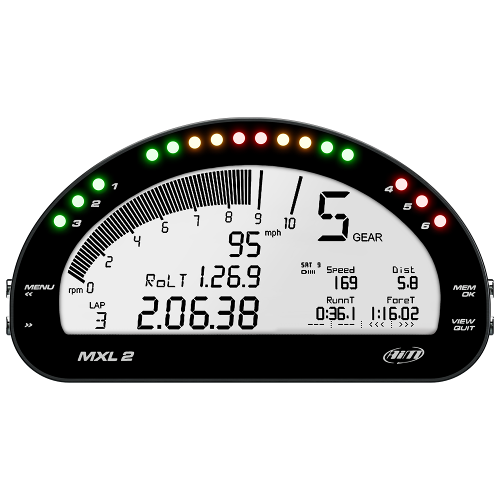 AiM MXL2 Racing Dash Logger