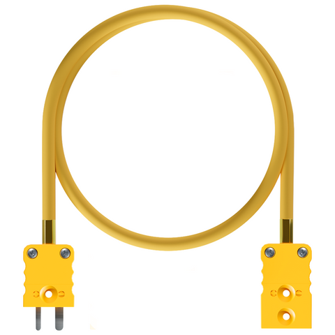 AiM Thermocouple Patch Lead TC - TC Yellow Motorcycle