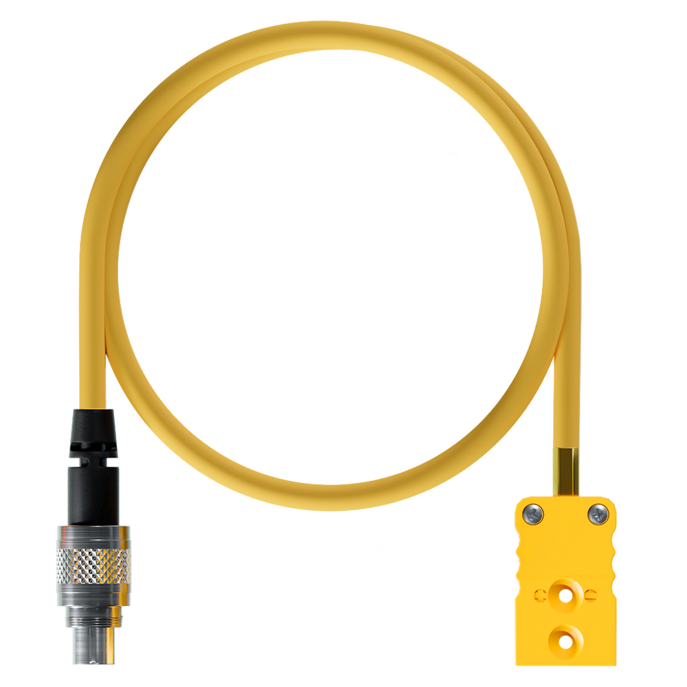 AiM Thermocouple Patch Lead TC Yellow - 712 3 Pin Motocross