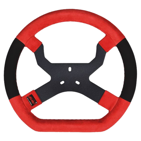 Aim Mychron 5 Kart Racing Steering Wheel Red/Black