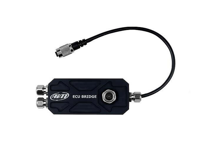 AiM Smartycam Ecu Bridge With CAN/K-line Communication Cable & Standard OBDII Standard Connector