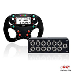 Aim Formula Wheel 3 and EVO 4s Powerboat Data Logger Racing Kit