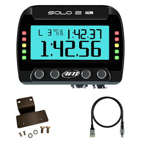 Kawasaki ZX-10R AiM Solo 2 DL Plug & Play Lap Timer Kit