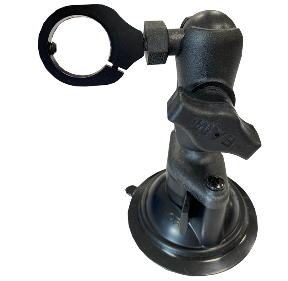 AiM SmartyCam GP HD Bullet Cam Suction Cup Mount 2.1 & 2.2 Motorcycle