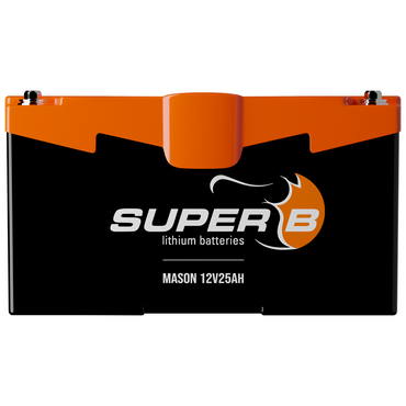 Super B Mason 12V25Ah BMS Lithium Battery