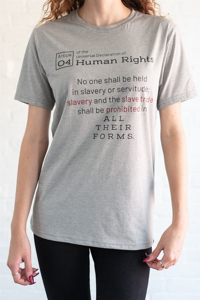 """Human Rights"" unisex t-shirt"