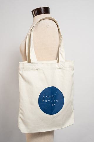 "the Tote bag ""Courage/Hope"""