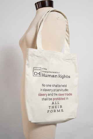 "the Tote bag ""Human Rights"""