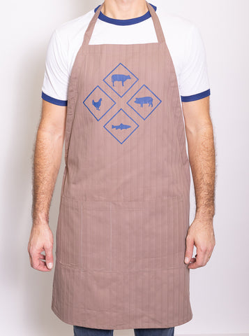 the  Griller's adjustable apron
