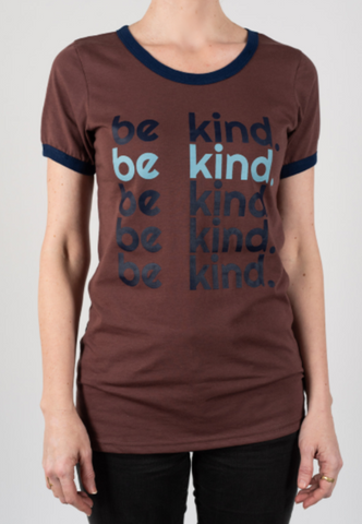 """Be Kind"" women's t-shirt"