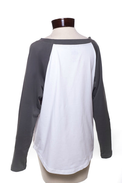 the Imagine Goods Raglan shirt