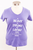"""Be Brave"" Limited Edition Shirt - L"