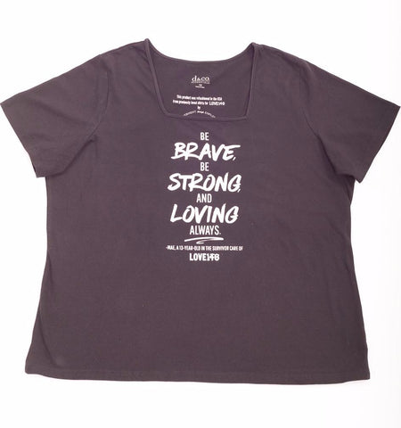 """Be Brave"" Limited Edition Shirt - XXL"