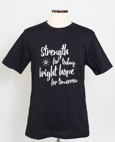 "HOPE ""Strength for Today"" Men's Crew Neck"