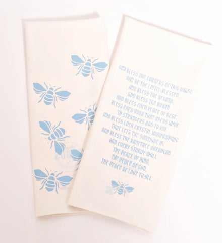 Bees Dishtowels - Set of 2 - SECOND