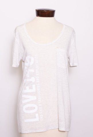 SECOND Love146 Tee - M