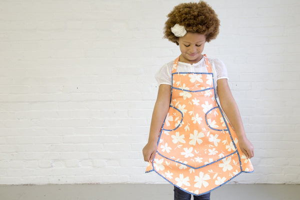 the Meagan child's apron