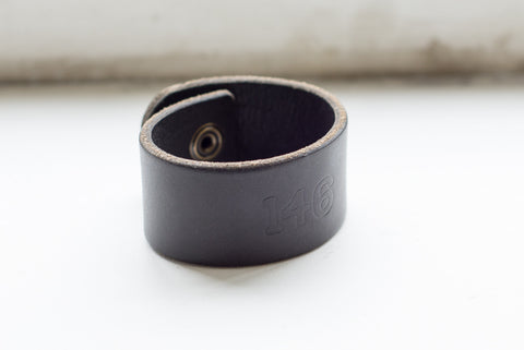 "ReImagine ""146"" Leather Cuff - M"