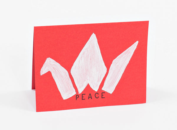 "Handmade Cards - ""Peace"" (pack of 10)"