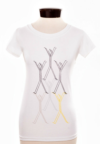 the Salvage + Design women's t-shirt
