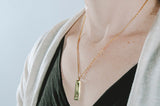 "ReImagine ""146"" Vertical Bar Necklace"