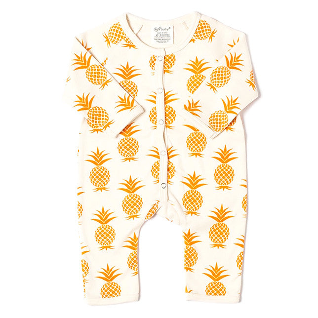 Long Romper - Pineapple