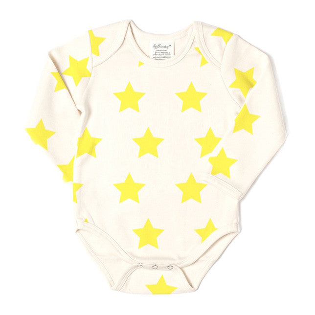 Long Sleeve Onesie - Star