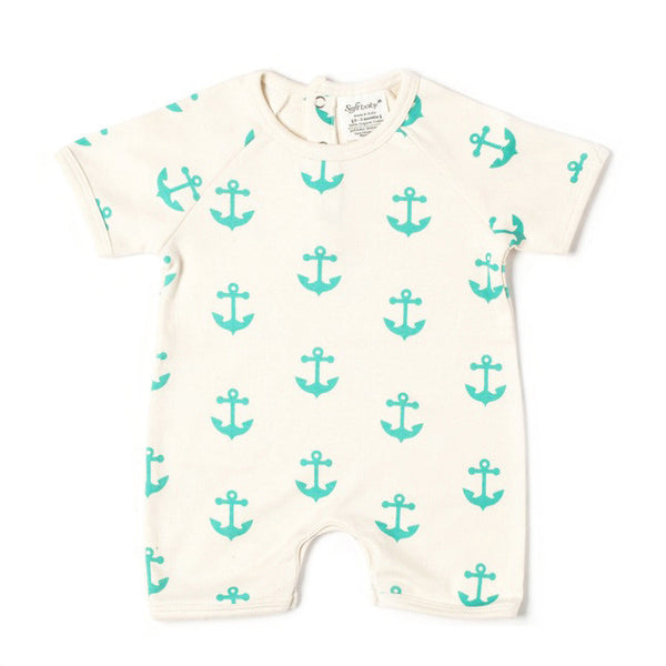 Short Romper - Anchor