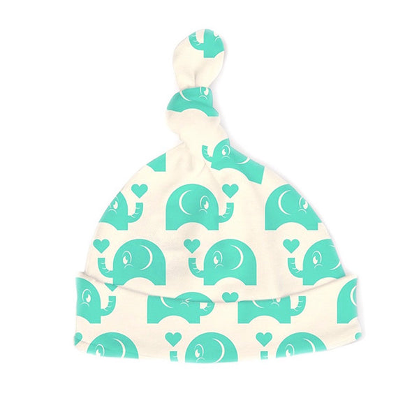 The Green Elephant - Hat - Natural White - 100% Organic
