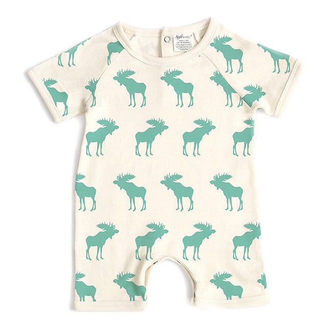 Short Romper - Moose
