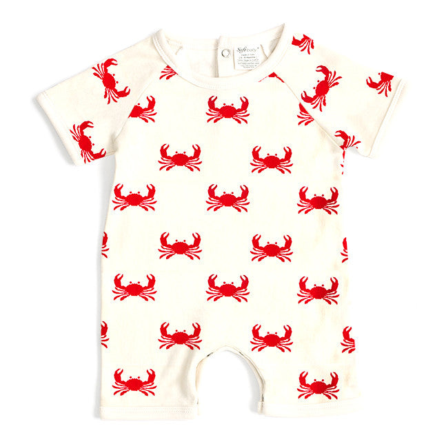 Short Romper - Crab