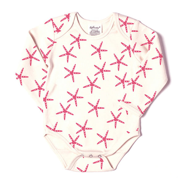 Long Sleeve Onesie - Starfish