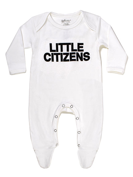 Little Citizens - Footed Onesie - 100% Organic