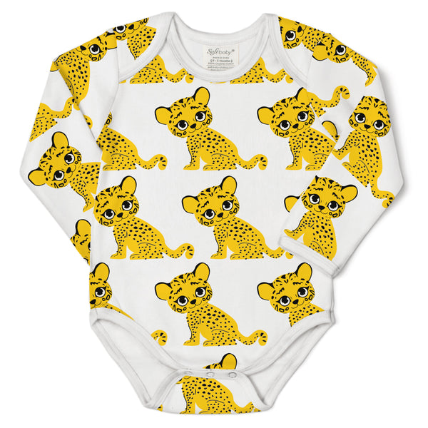The Stride of the Tiger - L/S Onesie - 100% Organic