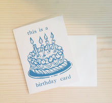 Load image into Gallery viewer, This is A Birthday Card