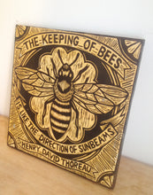 Load image into Gallery viewer, Bee Wall Art - Cutout