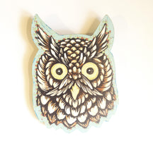 Load image into Gallery viewer, Owl Decor - Rustic Home Decor - Bird Wall Art - Porch Decor