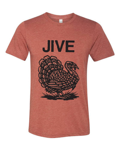 Jive Turkey T-shirt - Humorous Holiday T-shirt - Funny Holiday T-shirt - Thanksgiving Gift - Men's Clothing - T-shirts