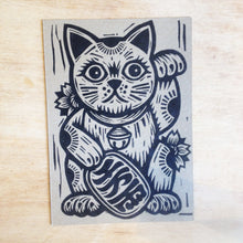 Load image into Gallery viewer, Lucky Cat Postcard