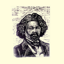 Load image into Gallery viewer, Frederick Douglass Linocut Art Print