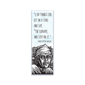 David Foster Wallace Bookmark