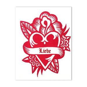 Valentine's Day Cards - Anniversary Cards - Letterpress Cards - Wedding Cards - Love Cards - Greeting Cards