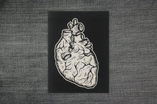 Load image into Gallery viewer, Patches for Jackets - Anatomical Heart Sew On Punk Patches - Heart Badge Reel