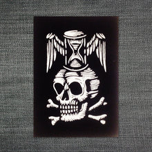 Load image into Gallery viewer, Memento Mori Black Patch - Patches - Punk Patches - Patches for Jackets - Skull Patch