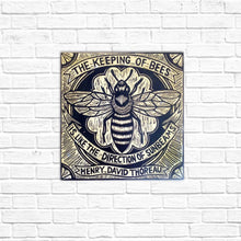Load image into Gallery viewer, Bee Wall Art - Print on Wood