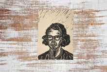 Load image into Gallery viewer, Flannery O'Connor Letterpress Postcard