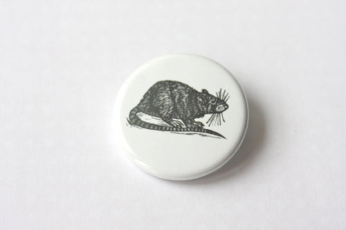 Rat Pinback Button