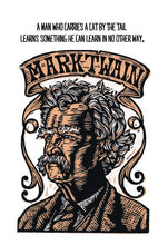 Load image into Gallery viewer, Mark Twain Postcard
