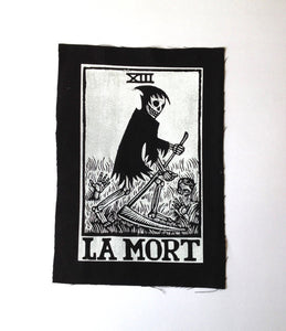 Death Tarot Large Sew On Patch