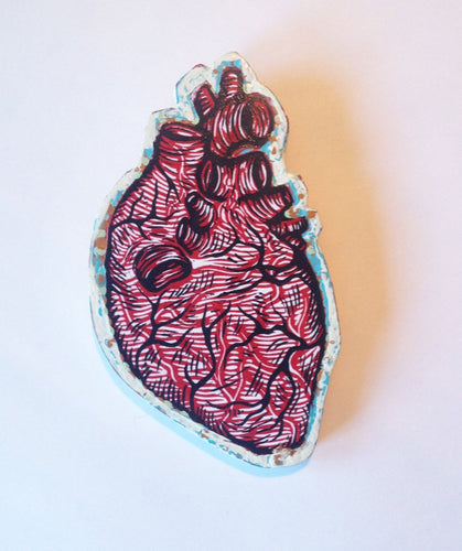 Anatomical Heart Wall Art
